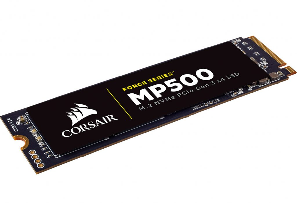 CORSAIR Release the Force Series MP500 M.2 NVMe PCIe SSDs