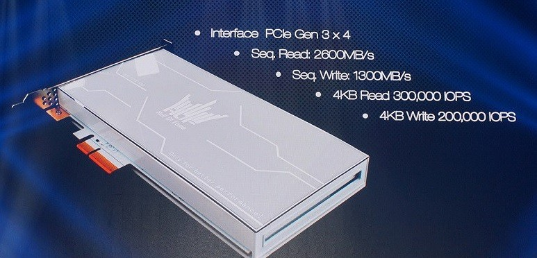 GALAX will introduce Phison-based NVMe SSDs