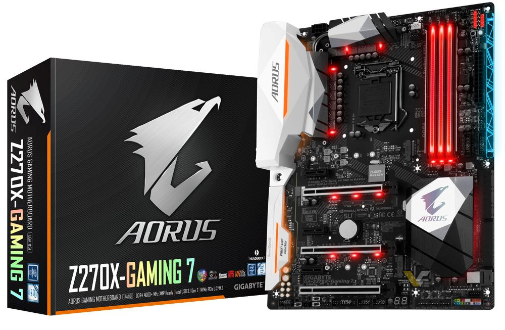 First picture of GIGABYTE Aorus Series Z270X-GAMING 7 Motherboard