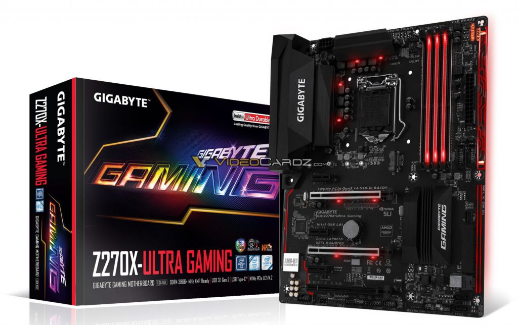 Check out all GIGABYTE's upcoming Z270 Motherboards