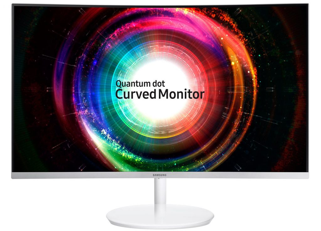 Samsung Unveils CH711 Curved Quantum-dot Monitor