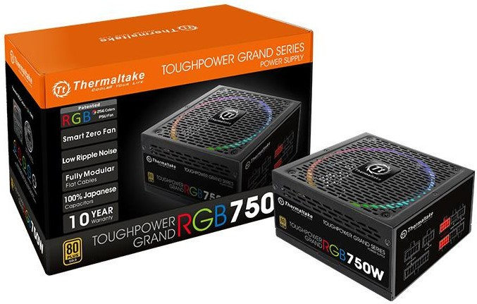 Thermaltake Releases ToughPower Grand RGB Gold PSU Series