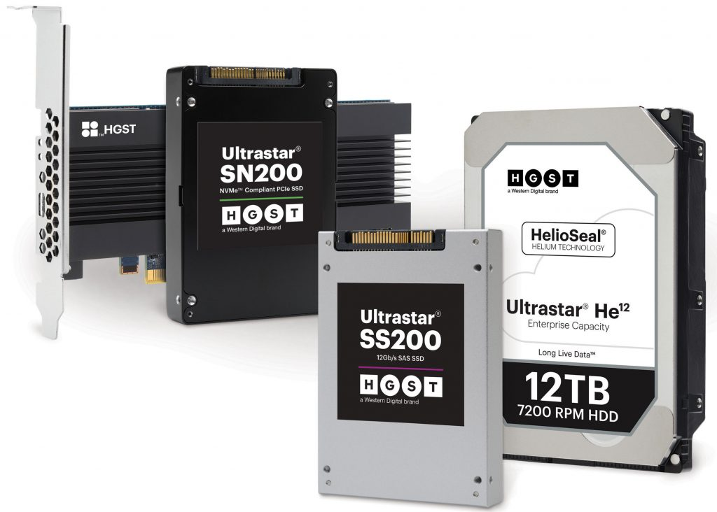 Western Digital Introduces New Enterprise-Class HDDs and SSDs