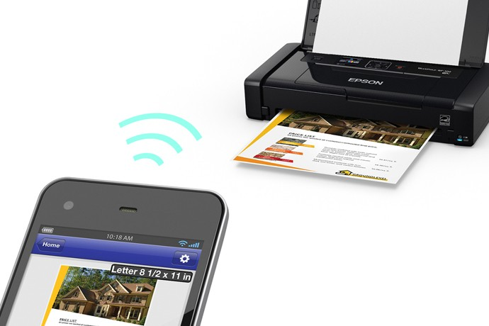 Epson Launches World's Lightest and Smallest Wireless Mobile Printer