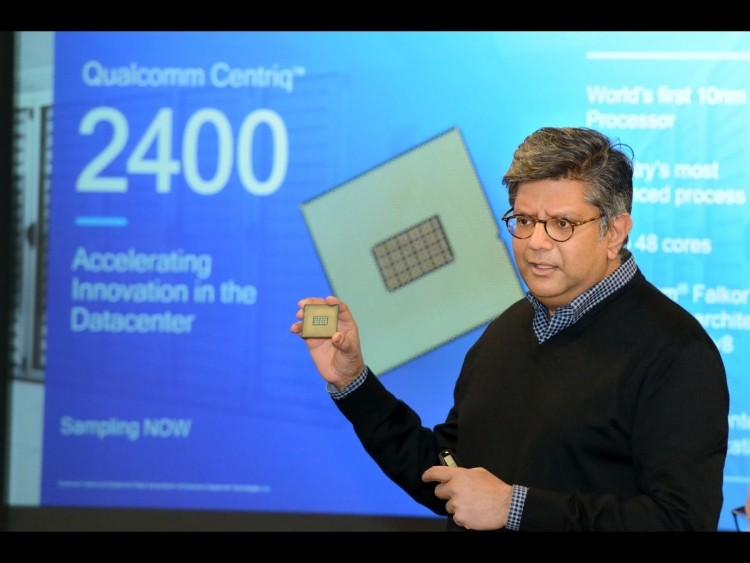 Qualcomm teases their 48-core processor on 10nm Centriq 2400 series processors