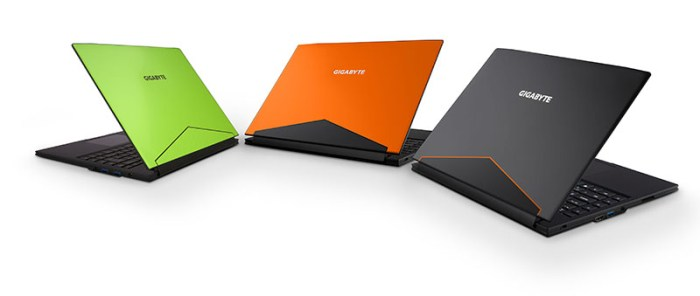 """GIGABYTE Announces Two New 15"""" Gaming Laptops, P56 and Sabre 15 at CES 2017"""