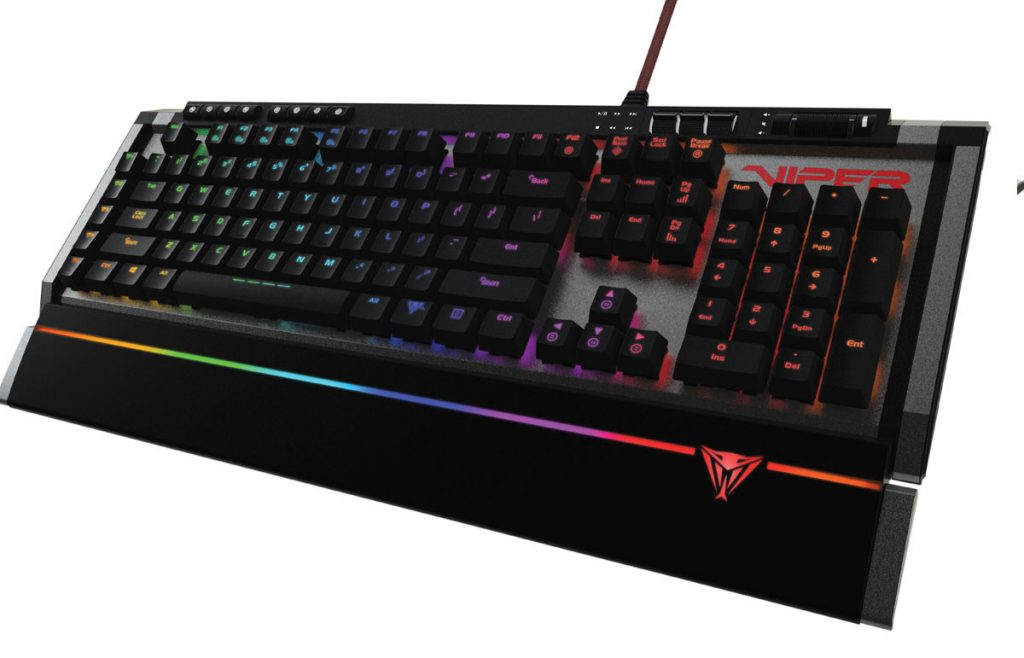 Patriot Announces Two New Mechanical Gaming Keyboards Viper V770 RGB and V730
