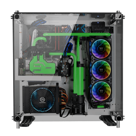 Thermaltake New Riing Plus 12 LED RGB Radiator Fan TT Premium Edition Radiator Fan with Riing Plus RGB Software Cool Your System with Infinite Color Combinations