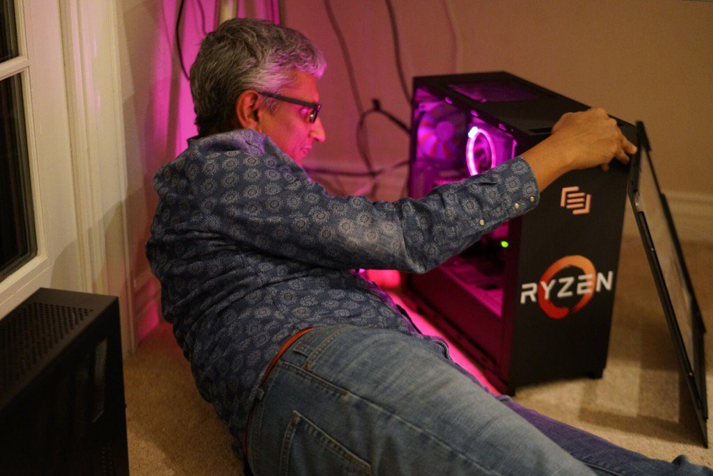AMD Ryzen reference cooler has an RGB LED illuminated ring design