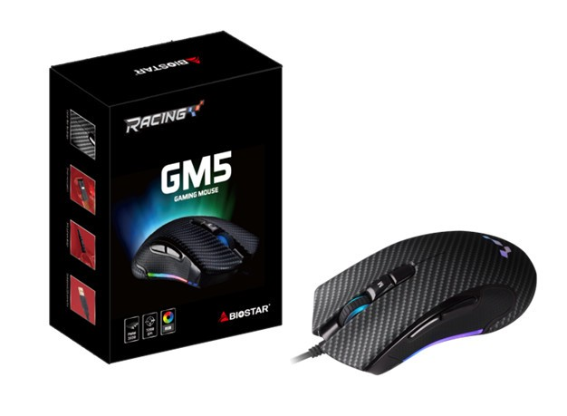BIOSTAR introduction the Racing GM5 Gaming Mouse