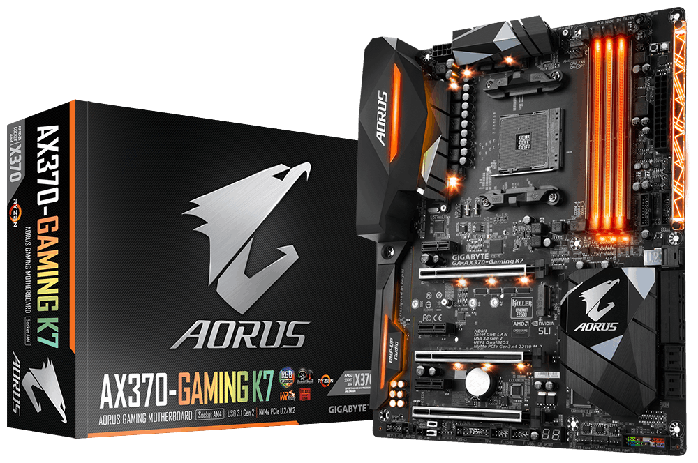 GIGABYTE Announces AM4 Ryzen Support With AORUS Motherboards
