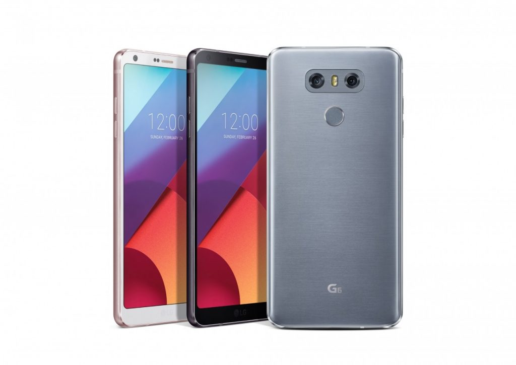 LG unveils new G6 with a large fullvision display tailored to fit in one hand