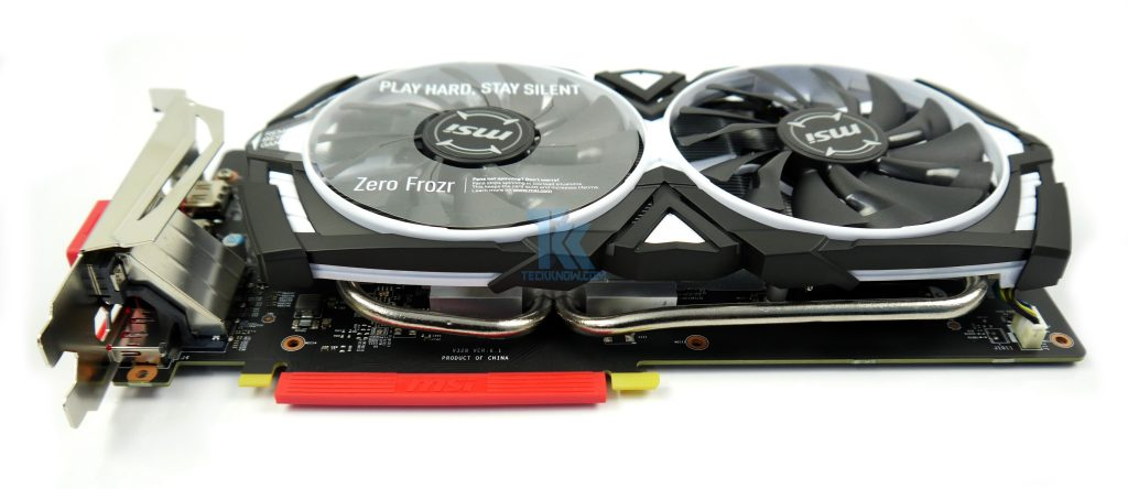 MSI ARMOR GeForce GTX 1060 3GB OC Edition Review