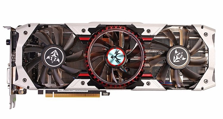 COLORFUL Introduces iGameGTX1080 X-TOP-8G Advanced