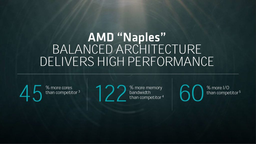 """AMD unveiled """"Naples"""" enterprise processor with Zen Based 32-cores and octa-channel DDR4 memory"""