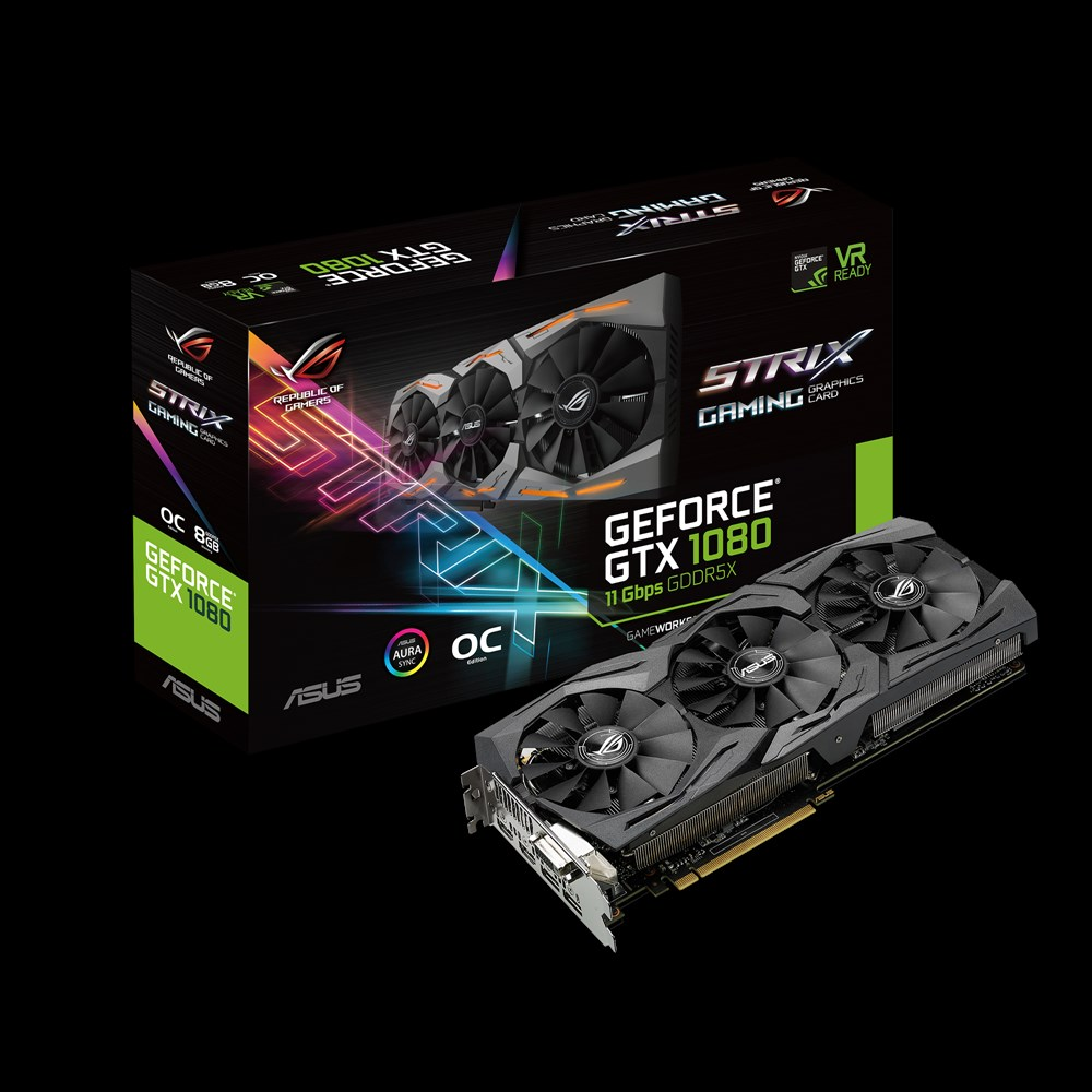 ASUS Unveils Revised GTX 1080 STRIX and GTX 1060 6GB STRIX with Faster Memory