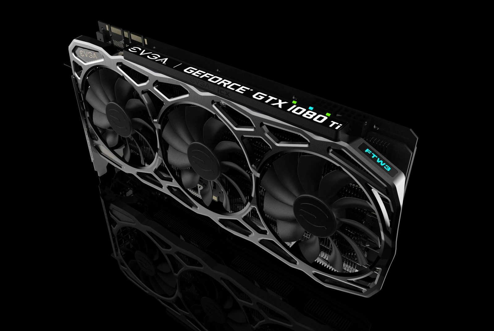 EVGA GeForce GTX 1080Ti FTW3 with new triple fan iCX Cooling Solution