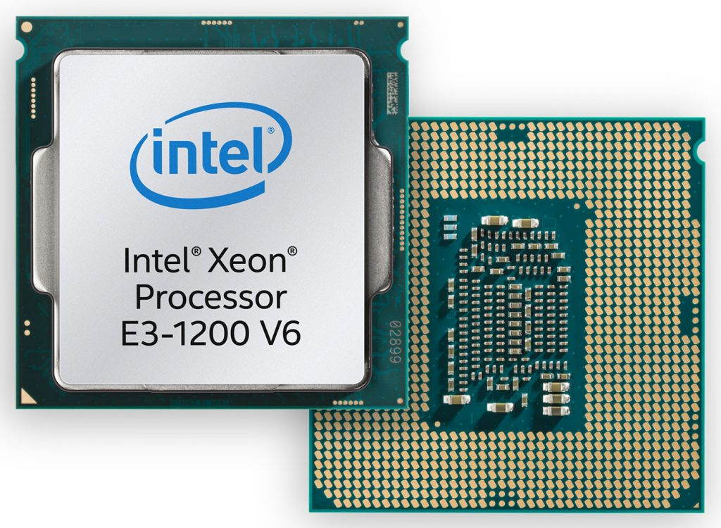 "Intel Announces the Xeon E3-1200 v6 Family Based on ""Kaby Lake"" Architecture"