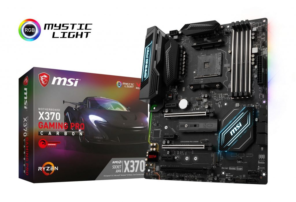 MSI Releases Complete AM4 Motherboard Lineup to Harness Ryzen