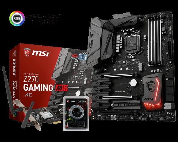 MSI Announces the Z270 Gaming M6 AC Motherboard