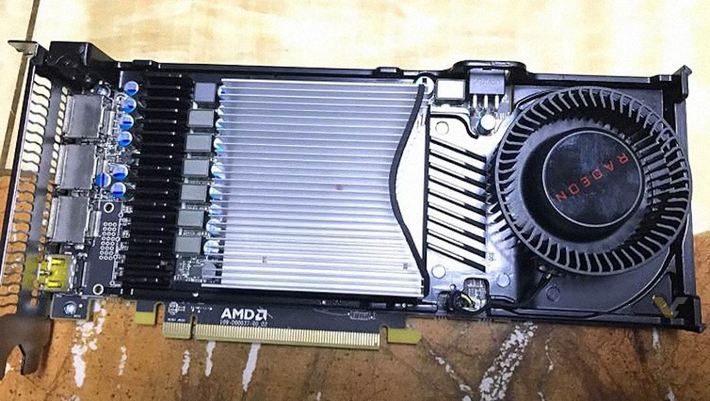 AMD Radeon RX 570 and RX 580 Reference Design Pictured