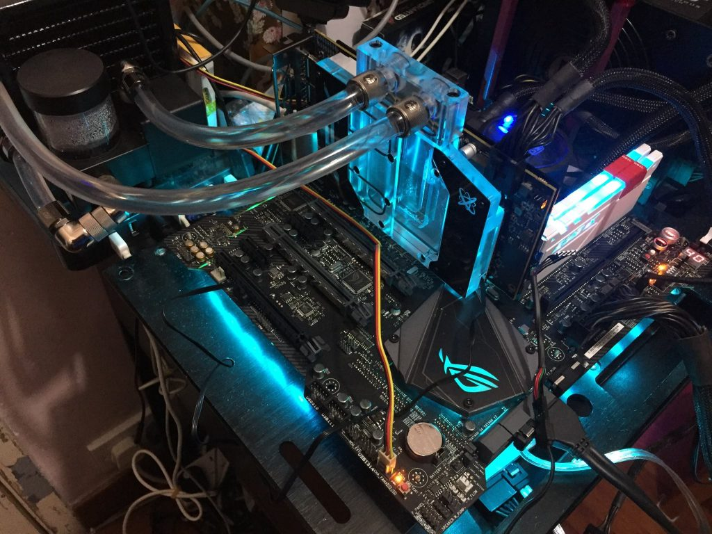 Water cooled AMD Radeon RX 580 benchmarks
