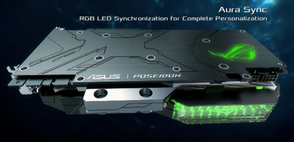 ASUS unveils its ROG GTX 1080 Ti Poseidon with hybrid air/water cooler