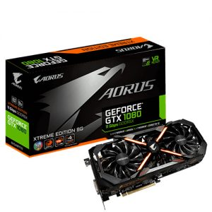 Gigabyte Intros Aorus GeForce GTX 1080 and 1060 with Faster Memory