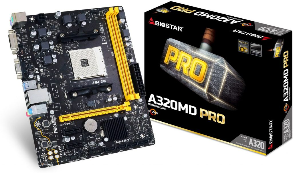 BIOSTAR Introduces A320 PRO Series of AM4 Motherboards