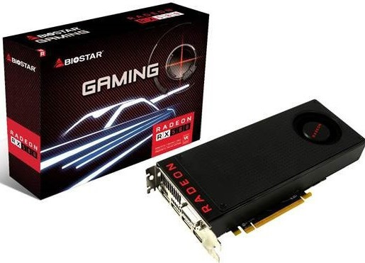 BIOSTAR Announces its Radeon RX 500 Series Graphics Cards