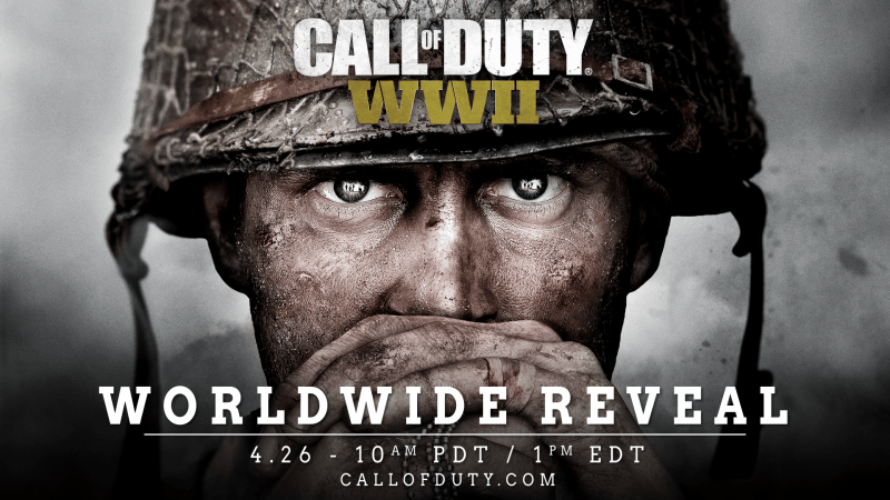 Activision officially announces Call of Duty: WWII