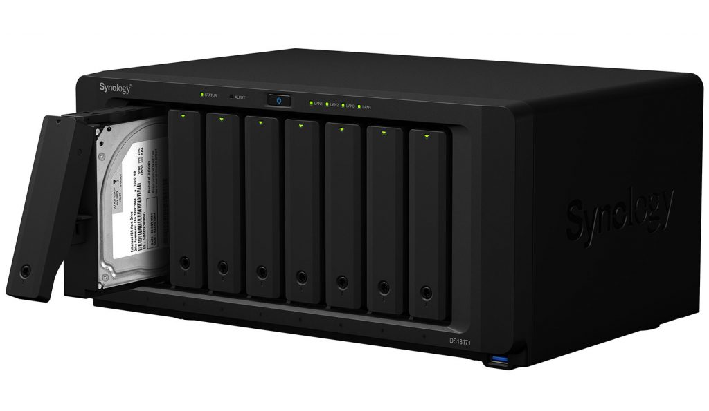 Synology launches DiskStation DS1517+, DS1817+, and Expansion Unit DX517