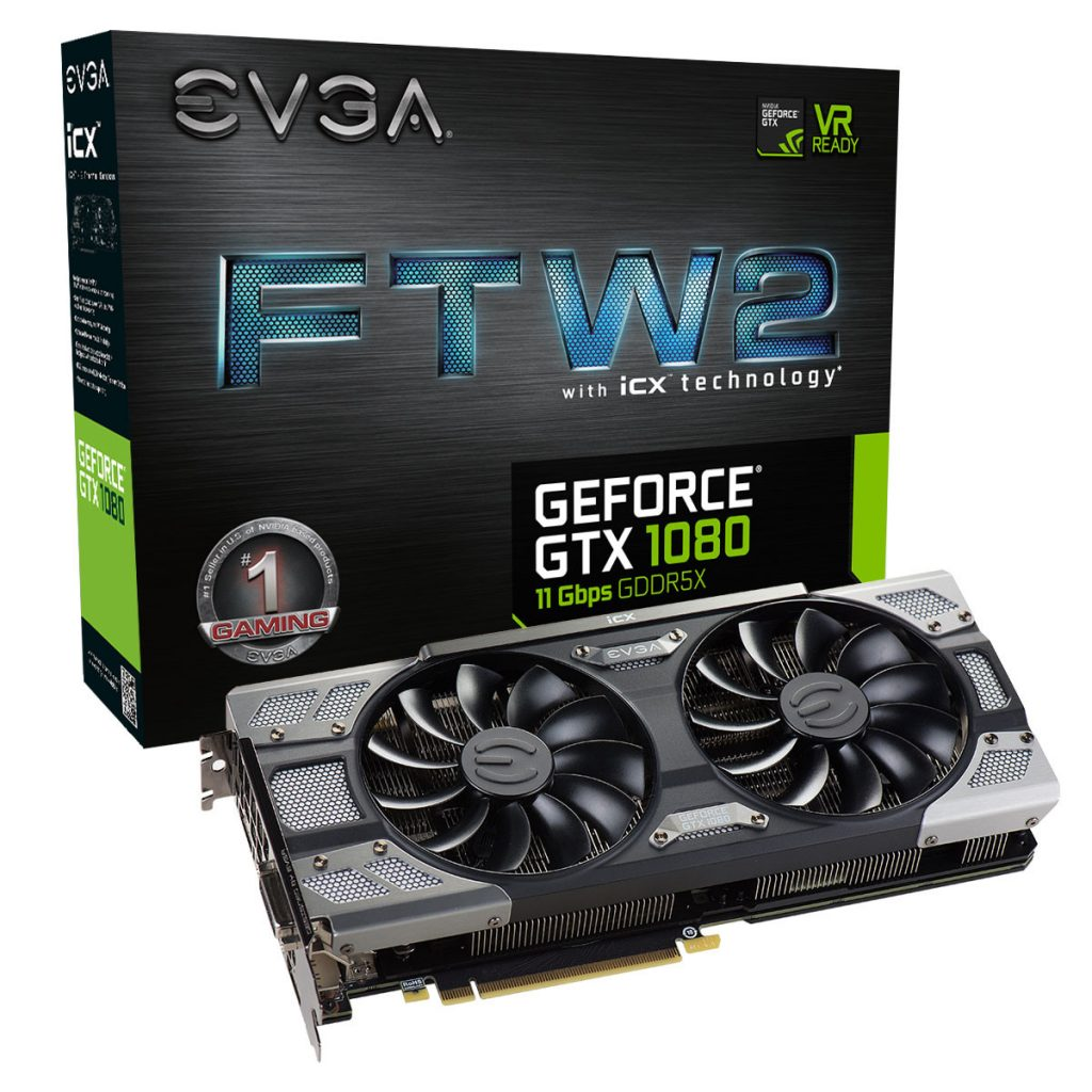 EVGA Announces GeForce GTX 1080 FTW2 and SC2 with 11 Gbps Memory
