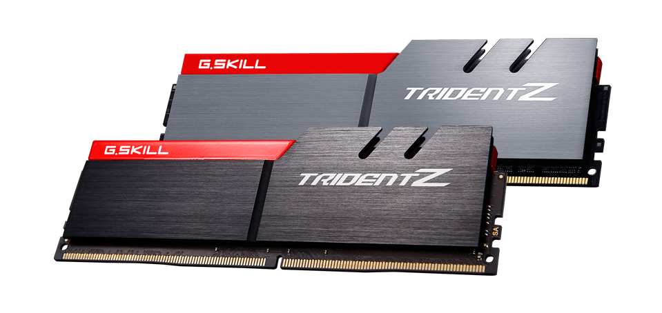 G.SKILL announces Trident Z DDR4-4333MHz 16GB (8GBx2) memory kit and achieves DDR4-4500MHz speed