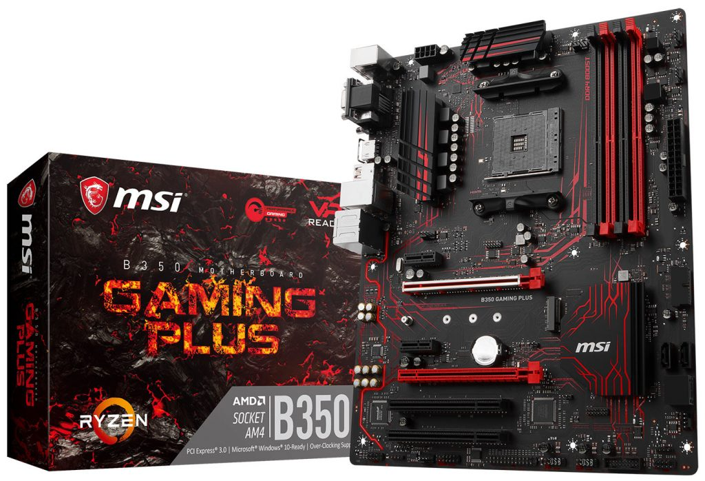 MSI Expands AM4 Motherboard Lineup with five new GAMING Motherboards based on the AMD AM4 X370 and B350 chipset