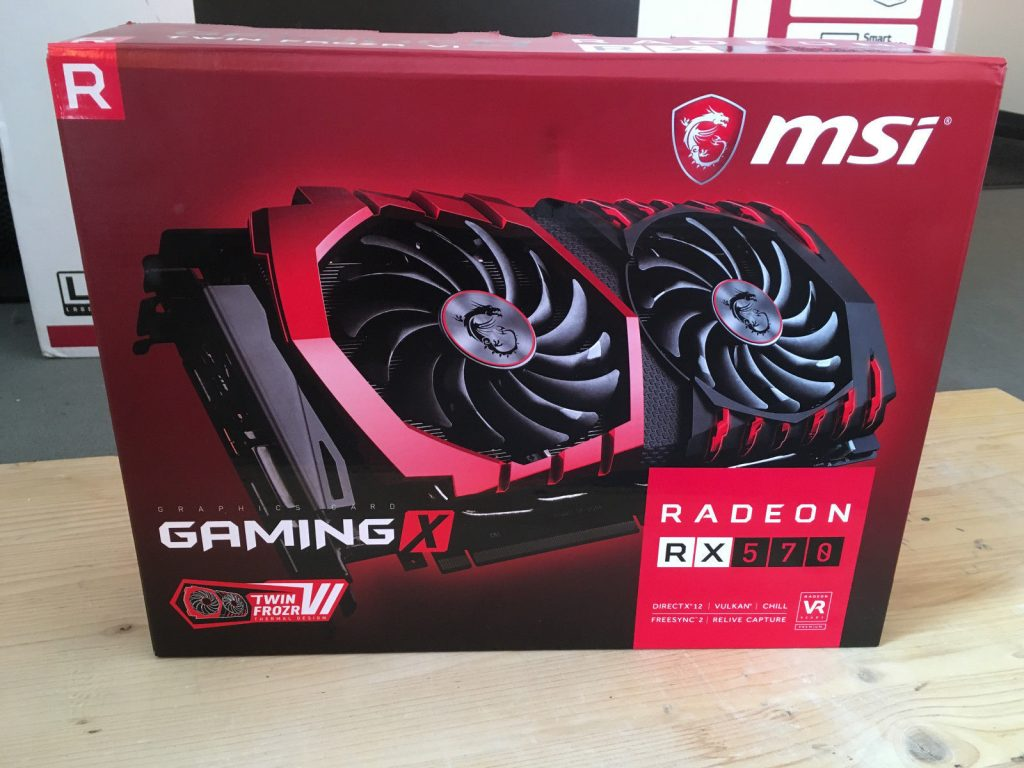 MSI Radeon RX 570 Gaming X spotted on eBay