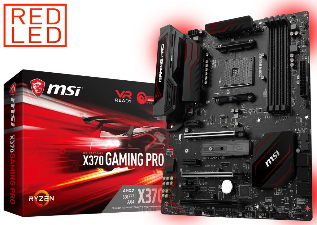 MSI Intros X370 Gaming Pro Motherboard