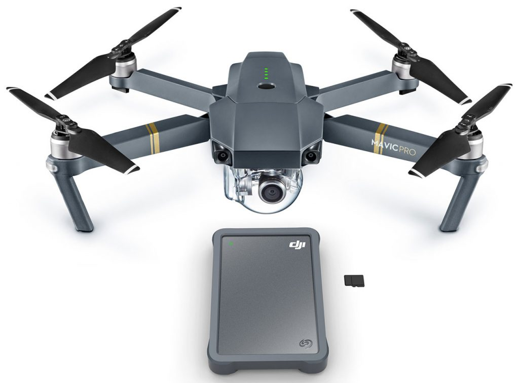 Seagate And DJI Announce New Portable Fly Drive for Camera Drones