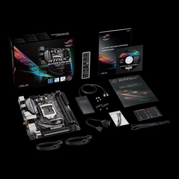 ASUS announced two new ROG STRIX Mini-ITX Motherboards: H270I and B250I