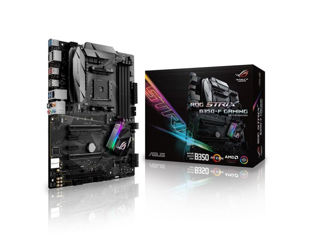 ASUS AM4 X370-F and B350-F Strix spotted