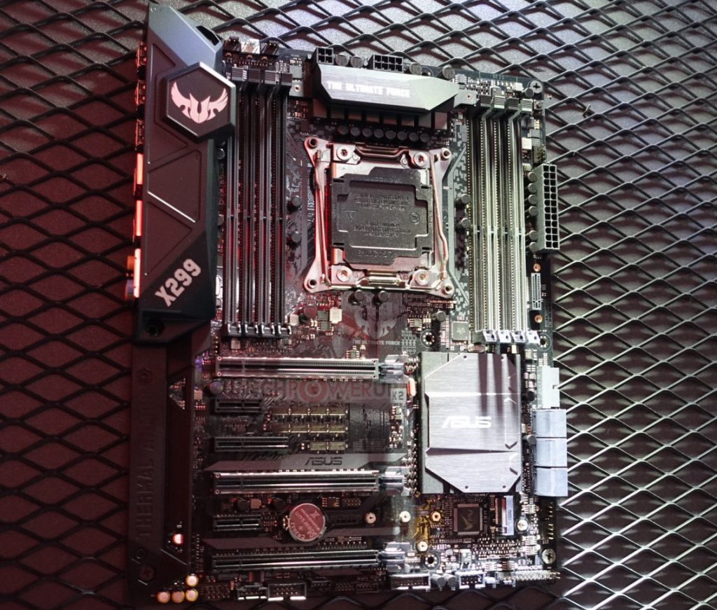 ASUS X299 motherboards showcased at Computex
