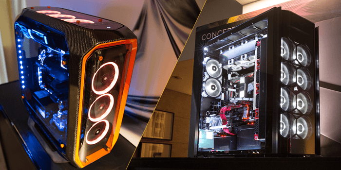 CORSAIR Unveils Concept Curve, Concept Slate, SYNC IT and Host of New Liquid Cooling Options at COMPUTEX 2017
