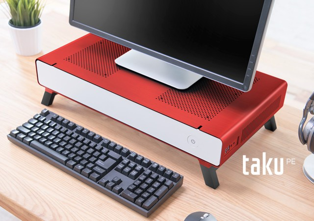 CRYORIG Releases the Taku Monitor Stand PC Case on Kickstarter