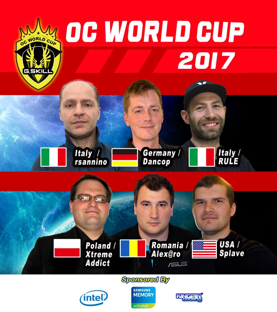 G.SKILL Hosting OC World Record Stage and OC World Cup at Computex 2017