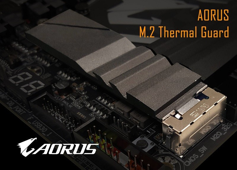 Gigabyte teases Aorus M.2 Thermal guard for cooling your SSD