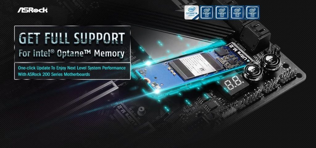Get ready for Intel Optane memory with ASRock 200 series motherboards!