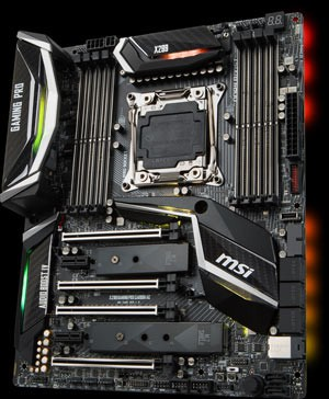 MSI Unleashes High-End X299 Motherboards at Computex 2017