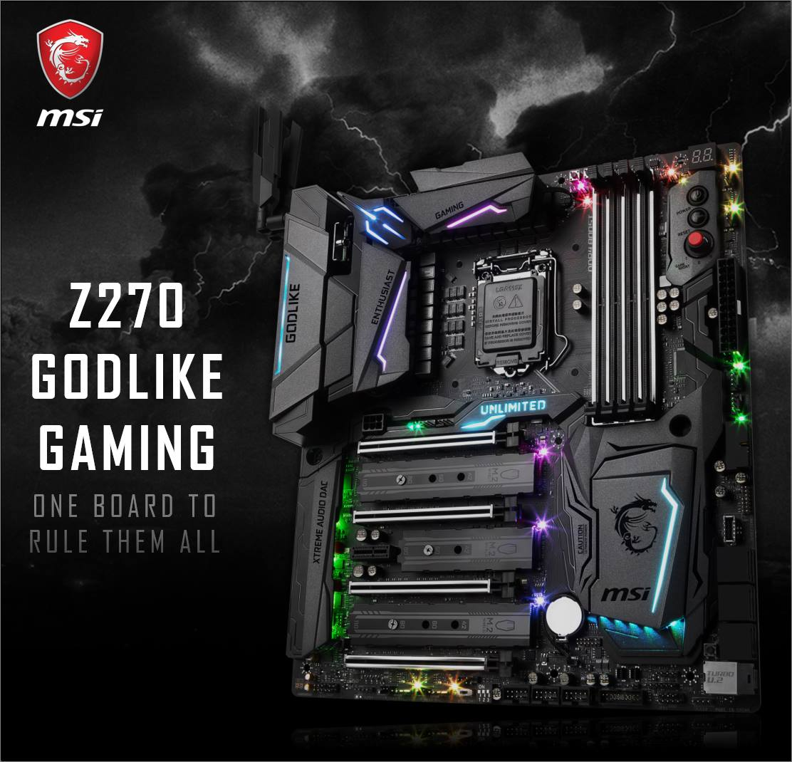 Msi Announces The Z270 Godlike Gaming Motherboard X99a With Our Continuous Strive To Push Industry Forward We Are Excited Once Again Work Close Rivet Be Worlds First Brand