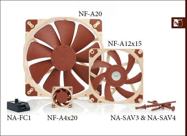 Noctua Announced New A-series Fans and Accessories
