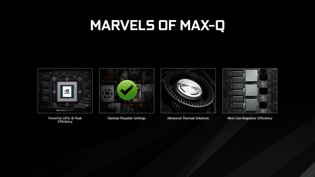 NVIDIA INTRODUCES MAX-Q FOR GAMING LAPTOPS